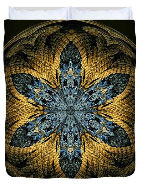 Nautical Star Duvet Cover by Cindi Ressler