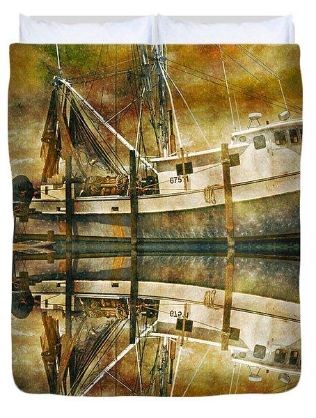 Nautical Timepiece Duvet Cover