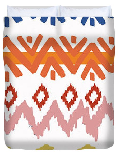 Southwest Pattern IIi Duvet Cover