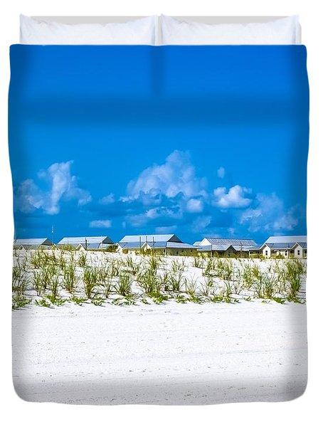 Navarre Beach Florida Duvet Cover