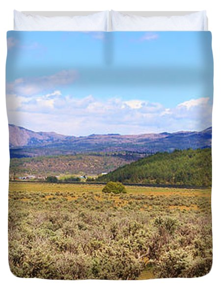 Near Chama New Mexico Duvet Cover