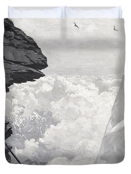 Nearly There Duvet Cover by Arthur Herbert Buckland