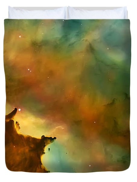 Nebula Cloud Duvet Cover by Jennifer Rondinelli Reilly - Fine Art Photography