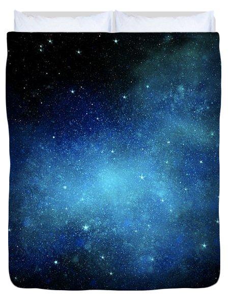 Nebula Mural Duvet Cover