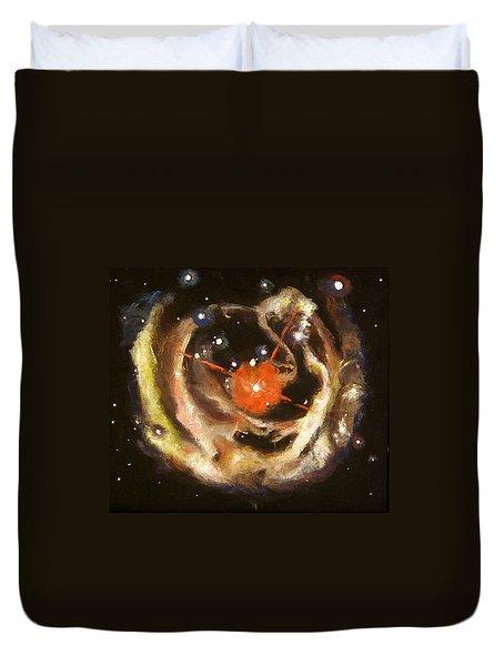 Nebula Duvet Cover by Sheila Diemert