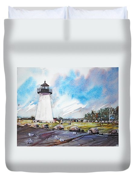 Ned's Point Light Duvet Cover