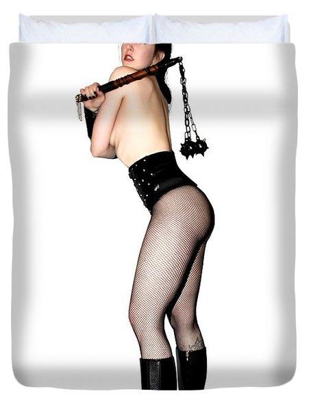Nell Vgirl Pinup Duvet Cover