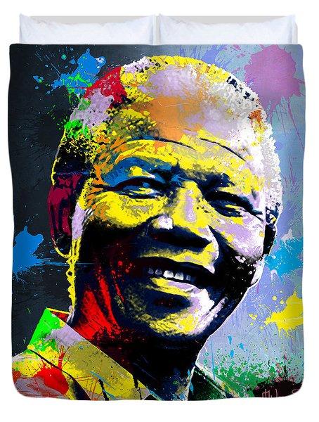 Nelson Mandela Madiba Duvet Cover