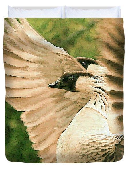 Nene Goose Duvet Cover