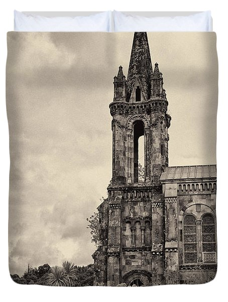 Neo Gothic Chapel Duvet Cover