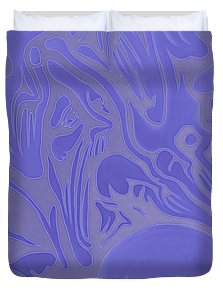 Neon Intensity Duvet Cover