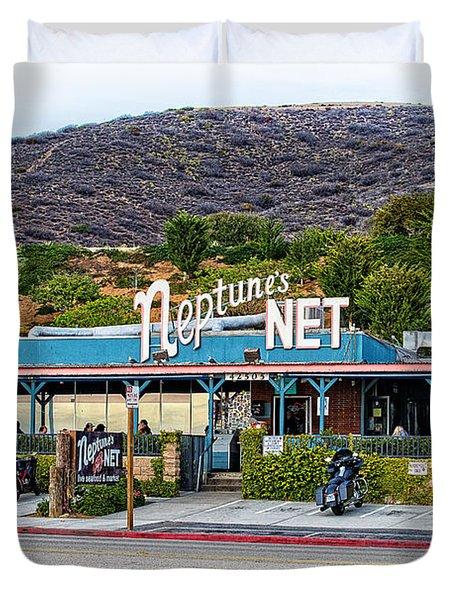 Neptune's Net Duvet Cover