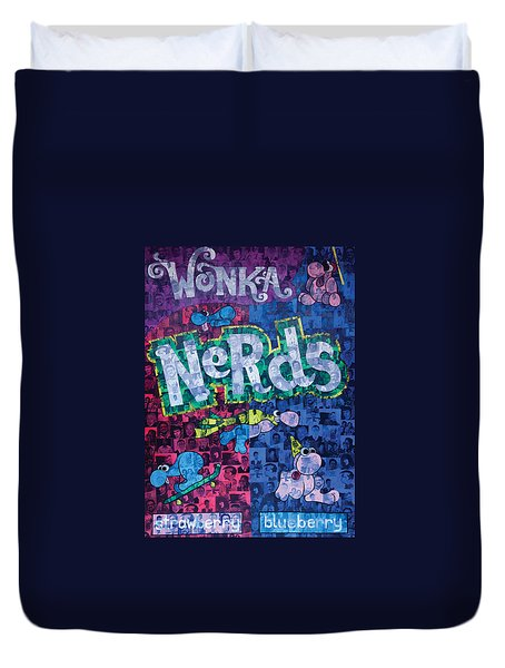 Nerds Duvet Cover