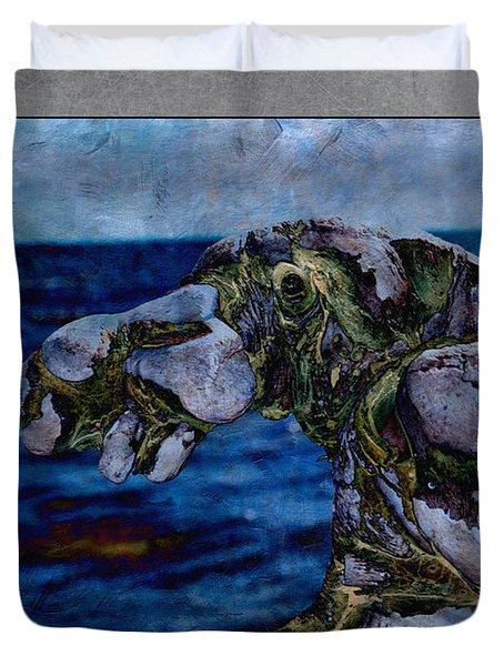 Nessie Duvet Cover