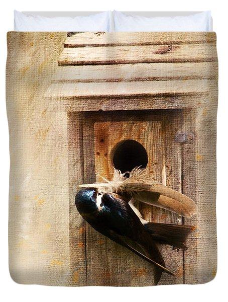 Nest Prepping Duvet Cover