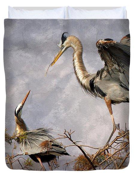 Nesting Time Duvet Cover