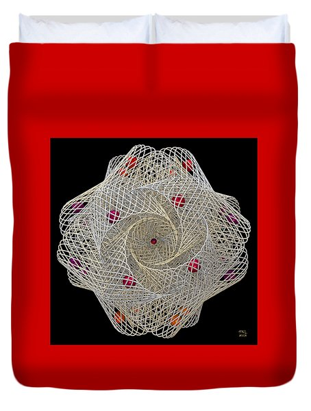 Netted Duvet Cover by Manny Lorenzo