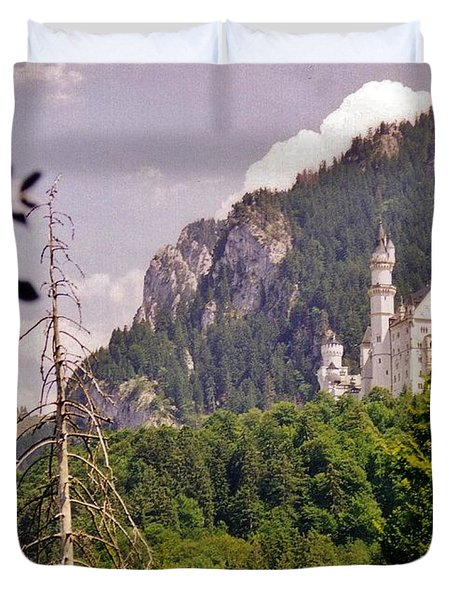 Neuschwanstein Castle Duvet Cover by Halifax Artist John Malone