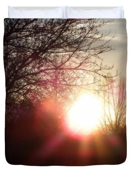 Nevada Sunset Duvet Cover