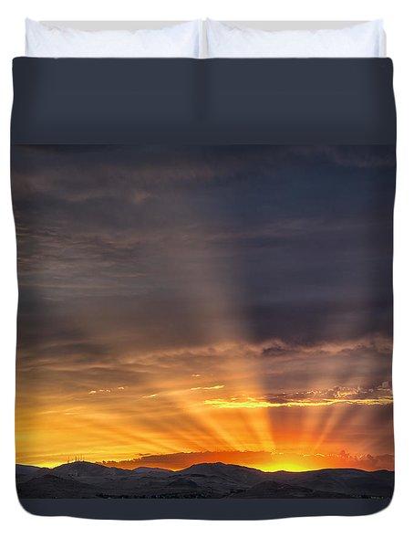 Nevada Sunset Duvet Cover