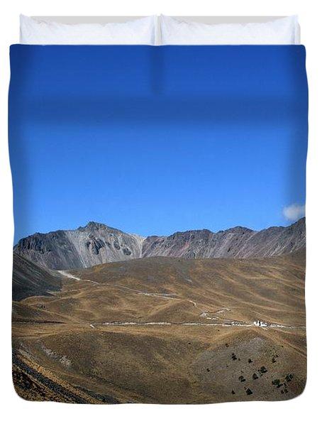 Nevado De Toluca Mexico Duvet Cover