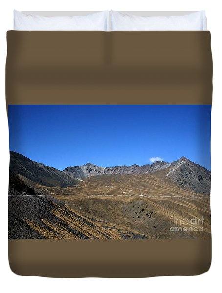 Nevado De Toluca Mexico Duvet Cover