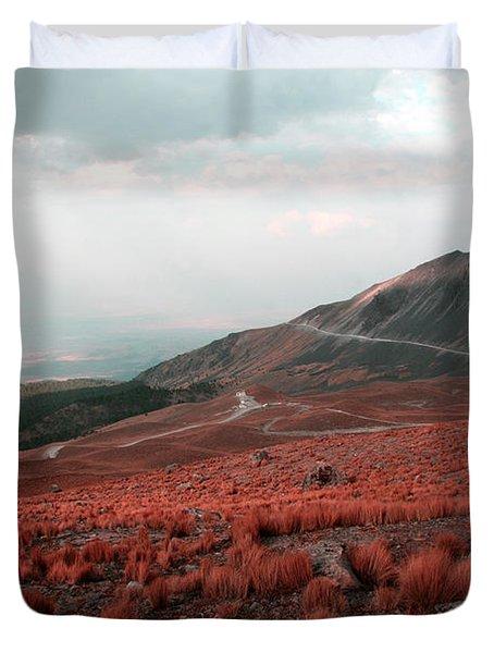 Nevado De Toluca Mexico II Duvet Cover