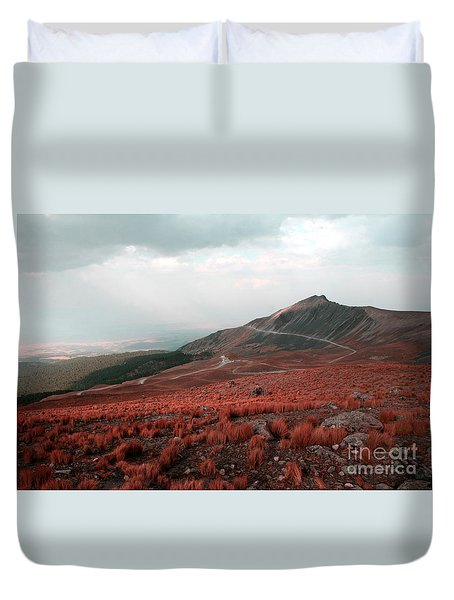Nevado De Toluca Mexico II Duvet Cover