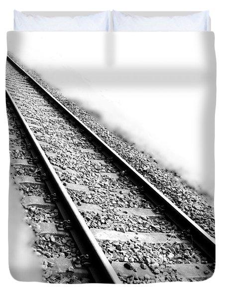 Never Ending Journey Duvet Cover by Marianna Mills