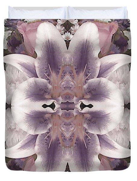 Lilac Garden Duvet Cover