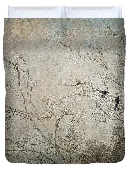 Nevermore... Duvet Cover by Amy Weiss