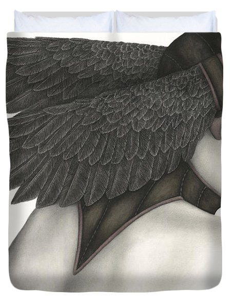 Nevermore Duvet Cover by Pat Erickson