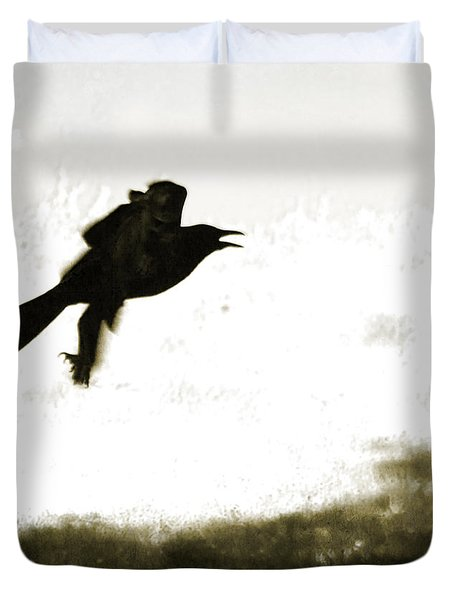 Nevermore Duvet Cover by Roselynne Broussard
