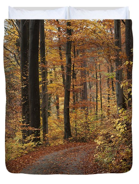 New Autumn Trails Duvet Cover