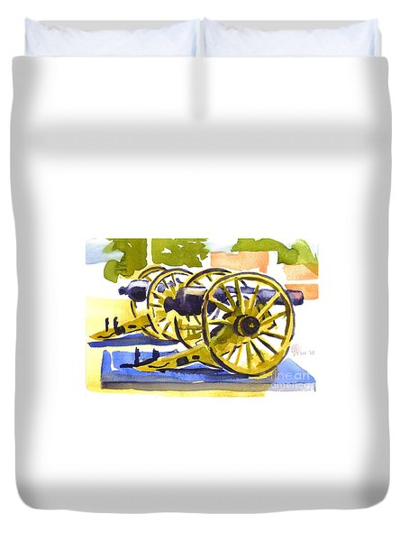 New Cannon Duvet Cover