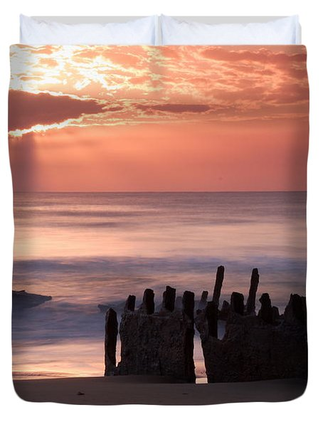 New Day Dawning Duvet Cover