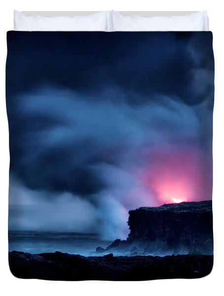 Duvet Cover featuring the photograph New Earth by Jim Thompson