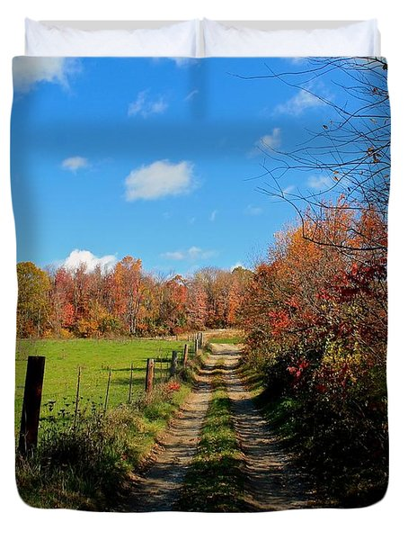 New England Farm Rota Springs Duvet Cover