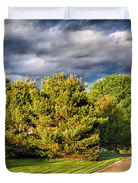 New England Spring 52 Duvet Cover