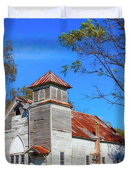 New Hope Mb Church Estill Ms Duvet Cover