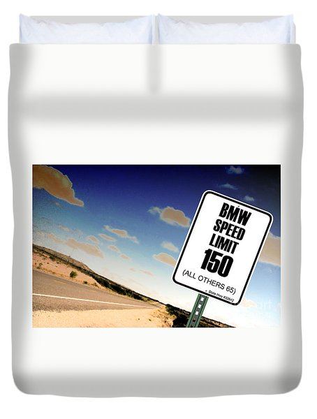 Duvet Cover featuring the photograph New Limits  by David Jackson
