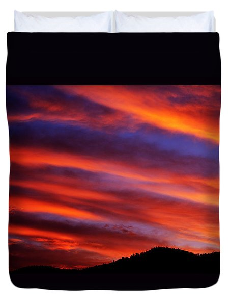 New Mexican Sunrise Duvet Cover