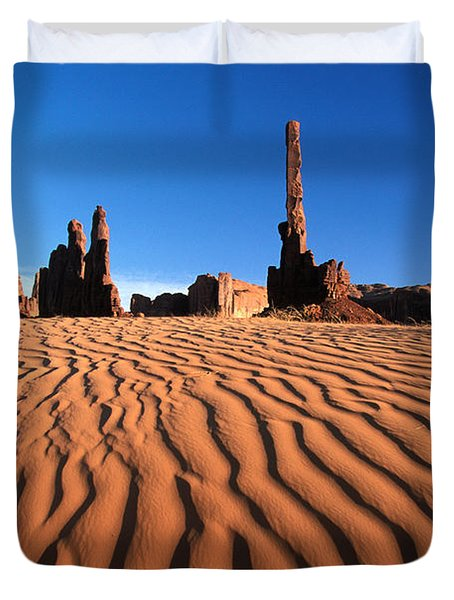New Mexico Monument Valley  Duvet Cover