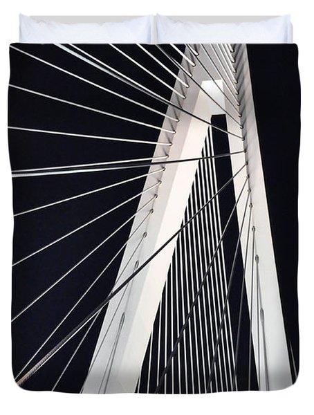 New Mississippi River Bridge Duvet Cover