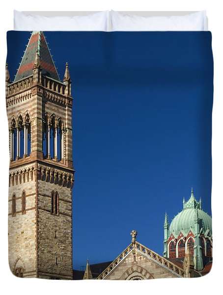 New Old South Church Duvet Cover