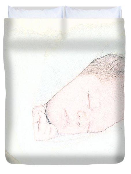 Baby Face Duvet Cover
