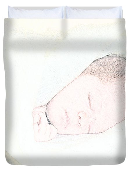 Baby Face Duvet Cover