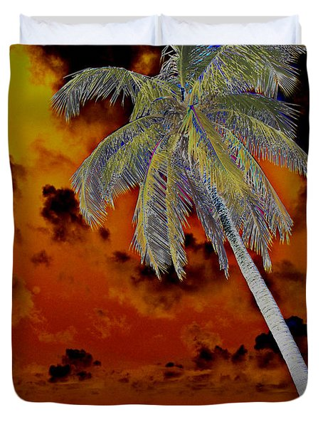 New Photographic Art Print For Sale Paradise Somewhere In The Bahamaramas Duvet Cover