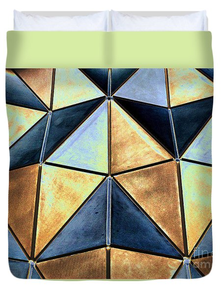 Pop Art Abstract Art Geometric Shapes Duvet Cover