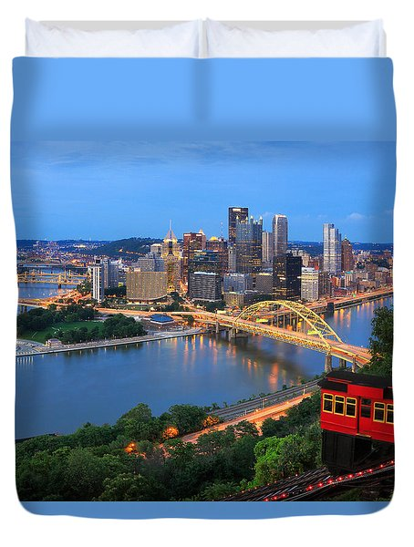 Pittsburgh Summer  Duvet Cover